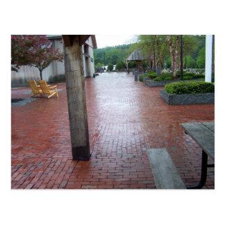 Brick walk postcard