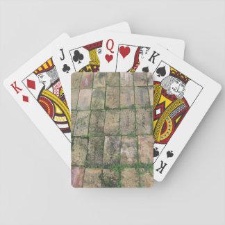 Brick Walkway Playing Cards