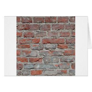 brick wall 1 card