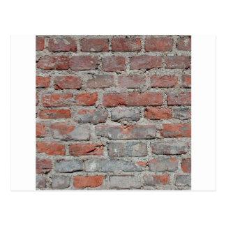 brick wall 1 postcard
