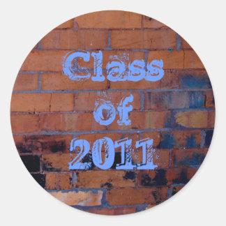 Brick wall 2011 stickers