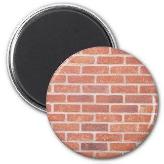 Brick wall 2 inch round magnet