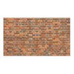 brick wall 2 MF Business Card Templates