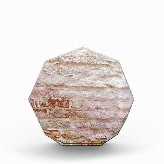 brick wall acrylic award