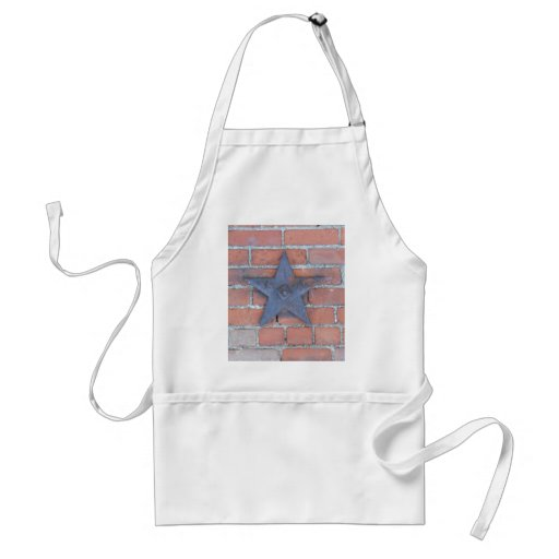 Brick Wall Background Adult Apron