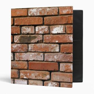 Brick Wall Background Vinyl Binders