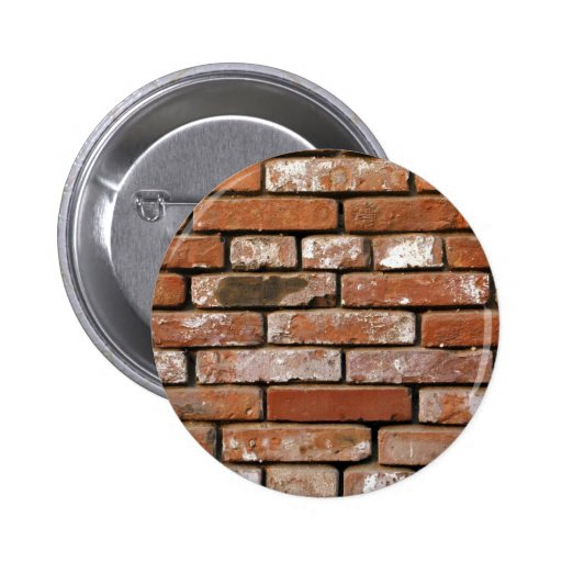 Brick Wall Background Button