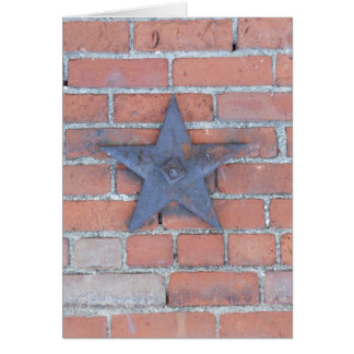Brick Wall Background Card
