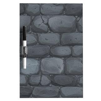 Brick wall background dry erase board