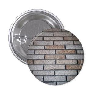 Brick Wall Background Image 1 Inch Round Button