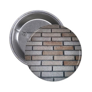 Brick Wall Background Image 2 Inch Round Button
