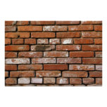 Brick Wall Background Posters