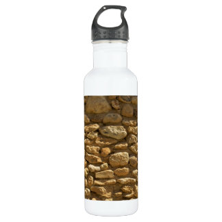 Brick Wall Background Stainless Steel Water Bottle