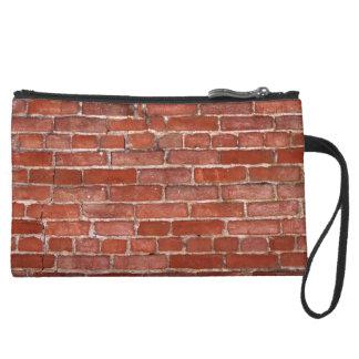 Brick Wall Wristlet Clutch