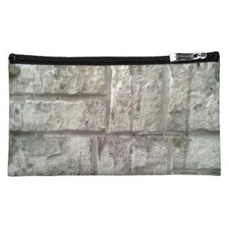 Brick Wall Makeup Bag