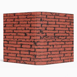 Brick Wall 3 Ring Binder
