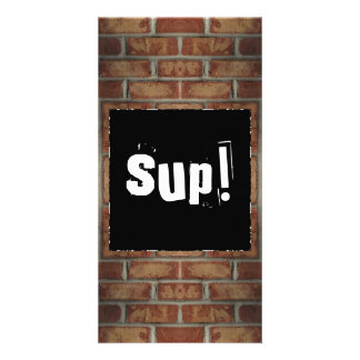 Brick Wall Book Mark Card