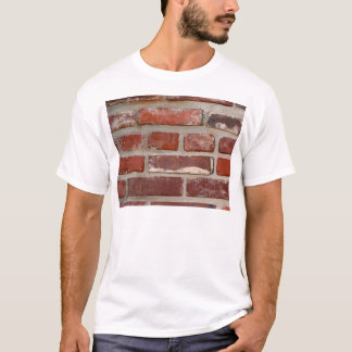 Brick wall brick texture customize the words T-Shirt