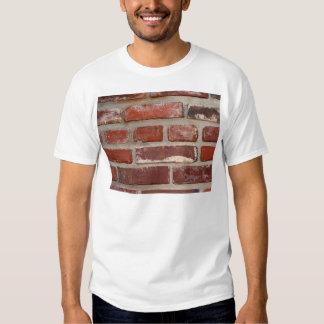 Brick wall brick texture customize the words tee shirt