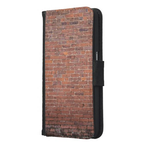 Brick Wall building Samsung Galaxy S6 Wallet Case