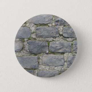 Brick Wall button, customize Pinback Button