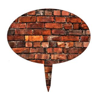 Brick Wall Cake Topper
