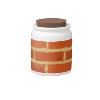 Brick wall candy dishes