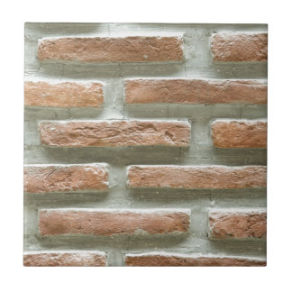 Brick wall ceramic tile
