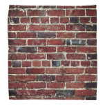 Brick Wall Cool Texture Pattern Bandana