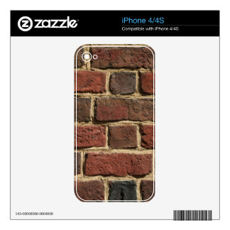 Brick Wall Decals For iPhone 4S