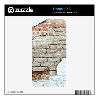 brick wall decals for the iPhone 4S