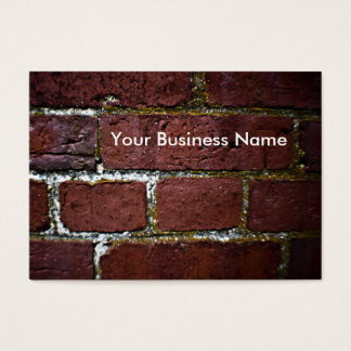 brick wall decay business card