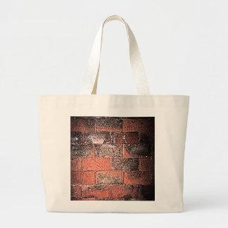 Brick Wall. Digital Art. Jumbo Tote Bag