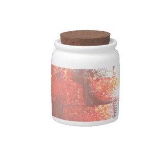 Brick Wall. Digital Art. Candy Dishes