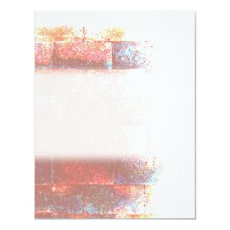 Brick Wall. Digital Art. Card
