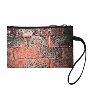 Brick Wall. Digital Art. Coin Wallet