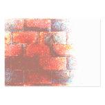 Brick Wall. Digital Art. Large Business Card
