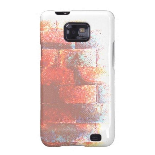 Brick Wall. Digital Art. Samsung Galaxy S Case