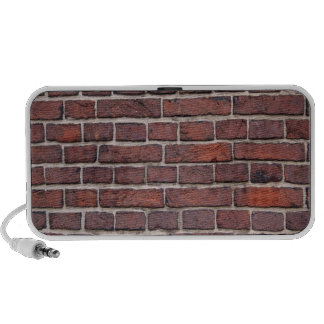 Brick Wall Doodle Travel Speakers