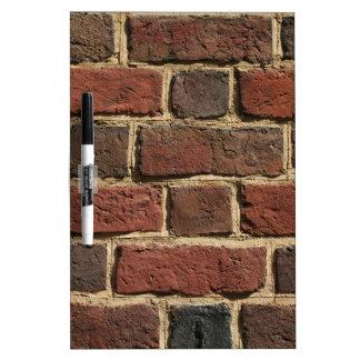 Brick Wall Dry-Erase Board