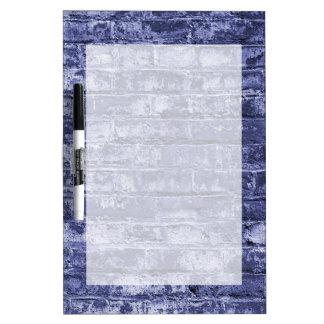 Brick Wall Dry Erase White Board