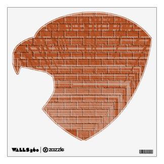 Brick Wall : Eagle Head Room Sticker