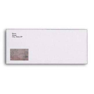 Brick Wall Envelope