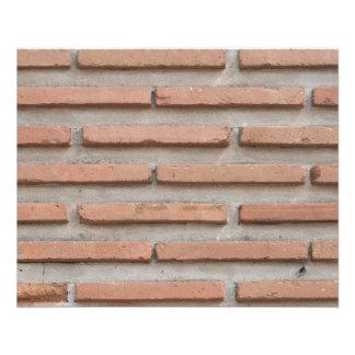 Brick wall flyer