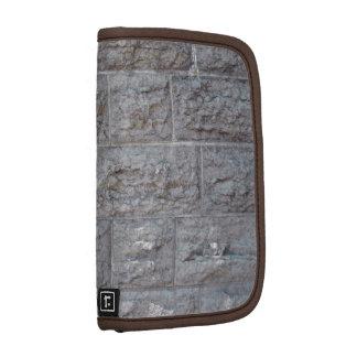 Brick wall folio planners