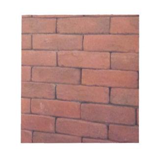 Brick Wall for Graffiti Expression Notepad