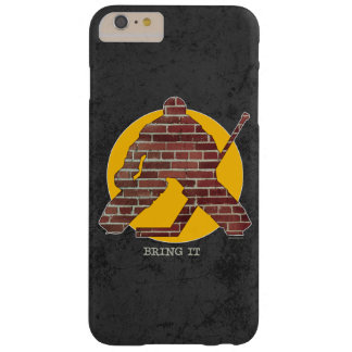 Brick Wall Goalie Barely There iPhone 6 Plus Case