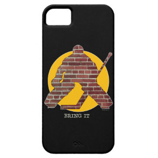 Brick Wall Goalie iPhone 5 case