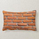 Brick Wall Grade A Cotton Lumbar Pillow