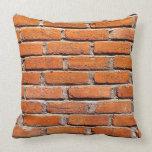 Brick Wall Grade A Cotton Pillow